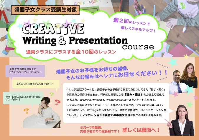 Creative Writing & Presentation.pages